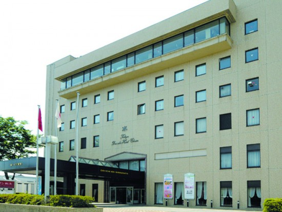 新湊第一インは射水市唯一のホテル。