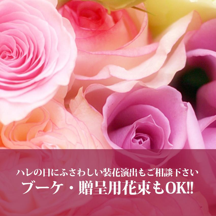 富山の結婚式の装花、テーブルコーディネートならココデウェディング